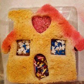 Festive Gingerbread house